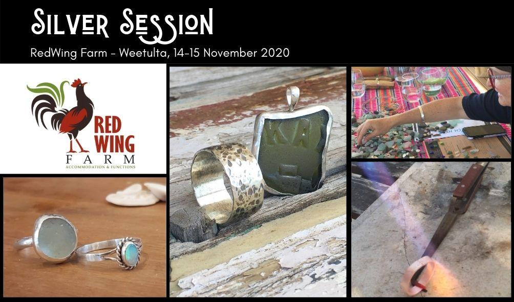 Morning – Ring Making Silver Sessions at Redwing Farm
