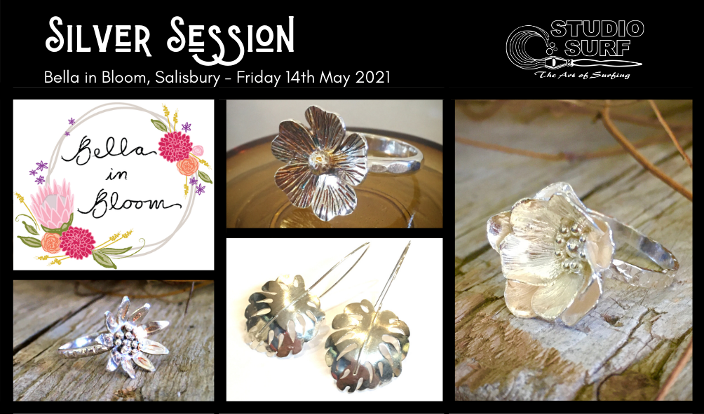 Silver Session – Flower Rings