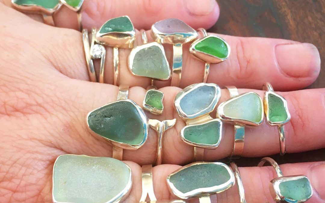 Seaglass Rings – Discovery Workshop with Jasmine Swales